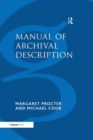 Manual of Archival Description - eBook
