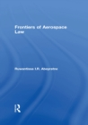 Frontiers of Aerospace Law - eBook