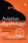Aviation Psychology: Practice and Research - eBook
