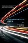 Advanced Vehicle Control : Proceedings of the 13th International Symposium on Advanced Vehicle Control (AVEC'16), September 13-16, 2016, Munich, Germany - eBook