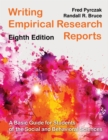 Writing Empirical Research Reports : A Basic Guide for Students of the Social and Behavioral Sciences - eBook