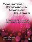 Evaluating Research in Academic Journals : A Practical Guide to Realistic Evaluation - eBook