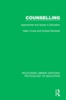 Counselling : Approaches and Issues in Education - eBook