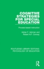 Cognitive Strategies for Special Education : Process-Based Instruction - eBook