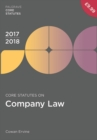 Core Statutes on Company Law 2017-18 - eBook