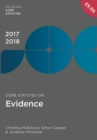 Core Statutes on Evidence 2017-18 - eBook