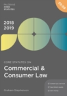 Core Statutes on Commercial & Consumer Law 2018-19 - eBook