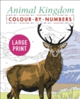 Large Print Animal Kingdom Colour by Numbers - Book