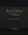 Jesus Calling Note-Taking Edition, Leathersoft, Black, with full Scriptures : Enjoying Peace in His Presence - Book
