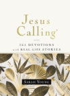 Jesus Calling, 365 Devotions with Real-Life Stories, Hardcover, with Full Scriptures - Book