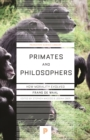 Primates and Philosophers : How Morality Evolved - eBook