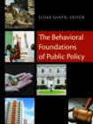 The Behavioral Foundations of Public Policy - eBook