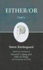 Kierkegaard's Writing, III, Part I : Either/Or - eBook