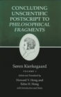 Kierkegaard's Writings, XII, Volume I : Concluding Unscientific Postscript to Philosophical Fragments - eBook