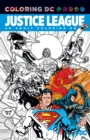 Justice League An Adult Coloring Book - Book