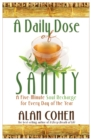 A Daily Dose of Sanity - eBook