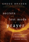 Secrets of the Lost Mode of Prayer - eBook