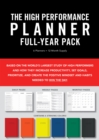 High Performance Planner Full-Year Pack : 6 Planners = 12-Month Supply - Book