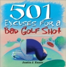 501excuses for a Bad Golf Shot - Book
