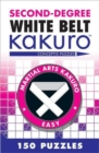 Second-Degree White Belt Kakuro - Book