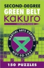 Second-Degree Green Belt Kakuro - Book