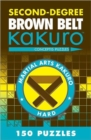 Second-Degree Brown Belt Kakuro - Book