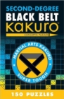Second-Degree Black Belt Kakuro - Book