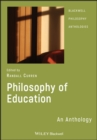 Philosophy of Education : An Anthology - Book