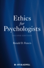 Ethics for Psychologists - Book