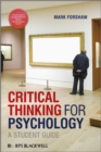 Critical Thinking For Psychology : A Student Guide - Book