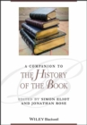 A Companion to the History of the Book - Book