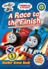 Thomas and Friends: A Race to the Finish (Sticker Scene Book) - Book