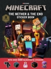 Minecraft The Nether and the End Sticker Book - Book