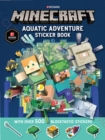 Minecraft Aquatic Adventure Sticker Book - Book