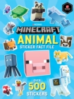 Minecraft Animal Sticker Fact File - Book