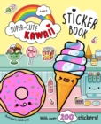 Super-Cute Kawaii Sticker Book - Book