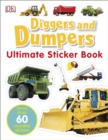 Diggers & Dumpers Ultimate Sticker Book - Book