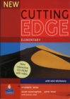 New Cutting Edge Elementary Students Book and CD-Rom Pack - Book