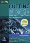 New Cutting Edge Pre-Intermediate Students Book and CD-Rom Pack - Book