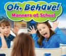 Manners at School - Book