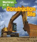 Machines on a Construction Site - Book