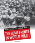 The Home Fronts in World War I - Book
