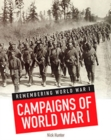 Remembering World War I Pack A of 4 - Book
