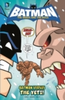 Batman Vs The Yeti - Book