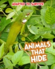 Adapted to Survive: Animals that Hide - eBook