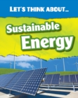 Let's Think About Sustainable Energy - eBook