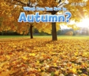 What Can You See In Autumn? - Book