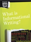 What is Informational Writing? - Book