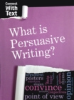 What is Persuasive Writing? - Book