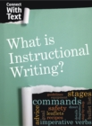 What is Instructional Writing? - Book